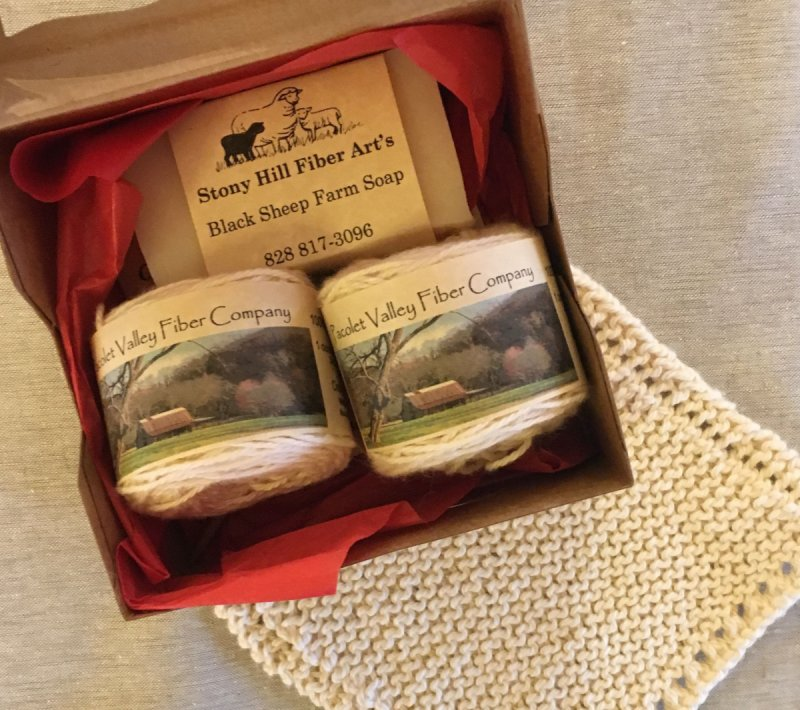 Organic Washcloth knitting kit