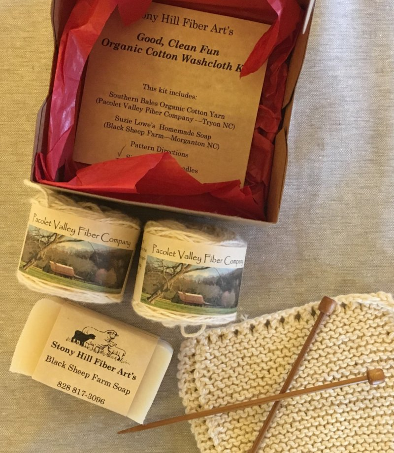 Organic washcloth kit