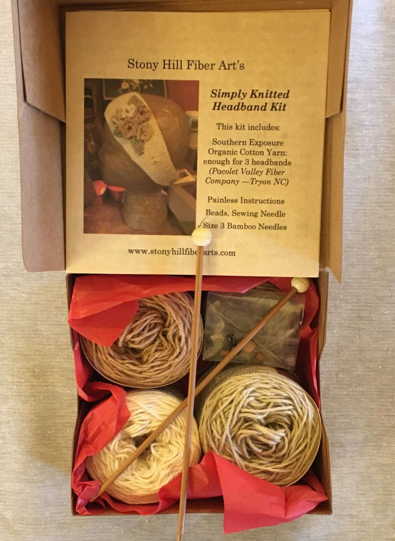 Simply Knitted Headband Kit
