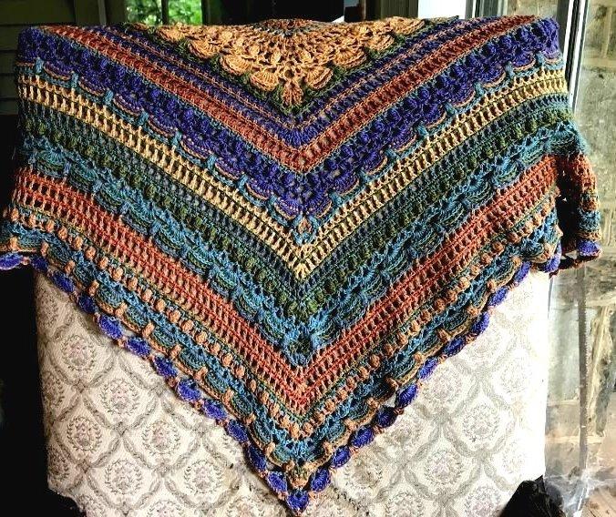 Crochet Baby Shawl Kit