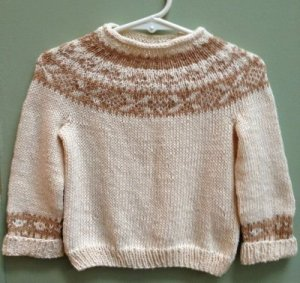Stony Hill Baby Yoke Sweater
