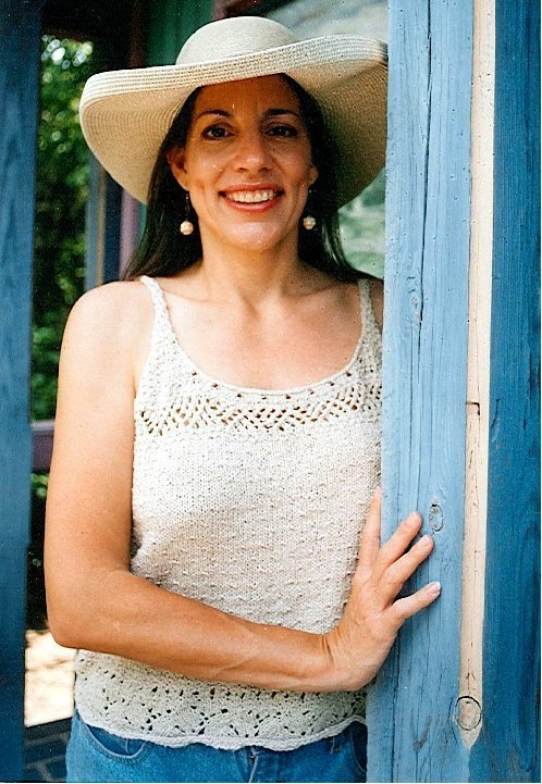 Carolyn's Summer Top easy knitting pattern