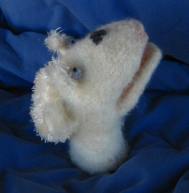 Felted Sheep Puppet
