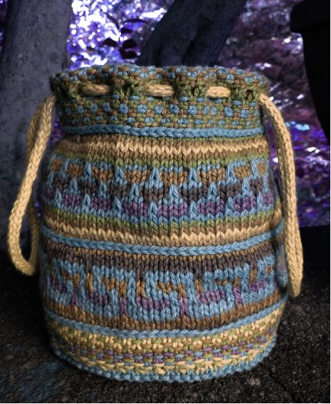 Mosaic Bag Earth Colors