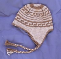 Knitted Sherpa Hat