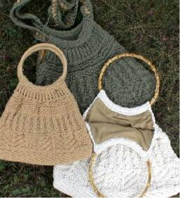 Knitted Tote Bag Pattern