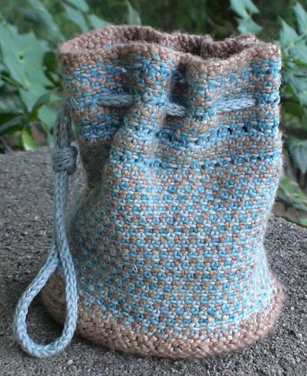 Little Linen Stitch Bag