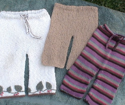 Knitting Patterns Toddlers Trousers : Baby Pants