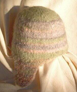 Felted Sherpa Hat Pattern