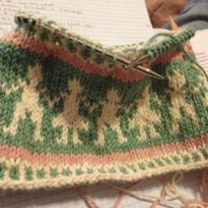 Fair Isle Little People Hat pattern